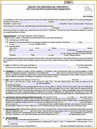 Free Rent Agreement Template Inspiration 48 Lease Agreement Template Free Easy Writing