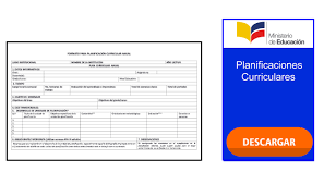 Descargar Planificaciones Curriculares Anuales 2019 2020