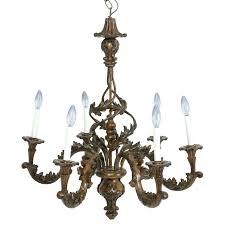 chandelier leaf chandelier molded resin acanthus motif leaf chandelier chandelier
