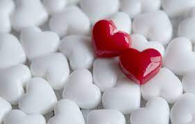 Wallpaper love, heart, hearts, red ...