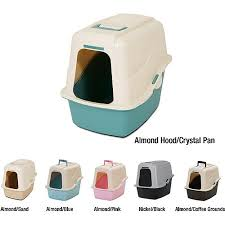 image covered cat litter. Petmate Covered Cat Litter Box Set With Microban, Large Image N