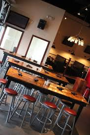 sustainable restaurant furniture. restaurant reclaimed style dining tables for a pizza joint in omaha 8 feet long james sustainable furniture