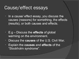 cause and effect expository essay cause and effect essay topics and ideas best essay