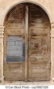 very old door csp16921329