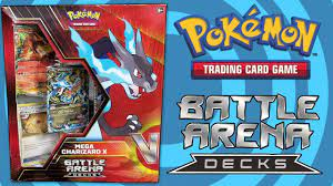 Pokemon Mega Charizard X Battle Arena Deck Opening and Review! - YouTube