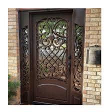 Image Wood Aliexpress Us 19500 iddis Steel Door Design Steel Door Grill Design Front Door Designsin Doors From Home Improvement On Aliexpresscom Alibaba Group