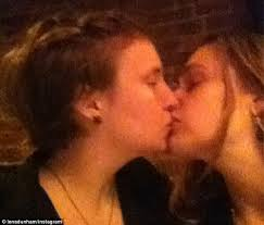 Extremely hot girls making out lesbian