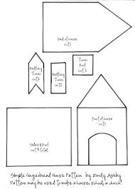 Free Printable Haunted House Template Paper In Format