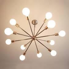 mid century chandelier diy designs