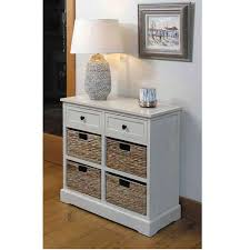 hall cabinets furniture. Cream Wooden Drawers And 4 Basket Hallway Storage Unit Hall Cabinets Furniture L