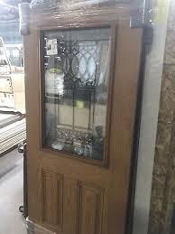 nice 32 x80 fiberglass exterior door w