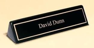 Office Name Plate Template Name Plate For Desk Classic Design 3 Military Desk Name Plate Office