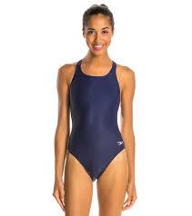 Speedo Two Piece Size Chart Speedo Powerflex Eco Solid Super Pro Womens Swimsuit