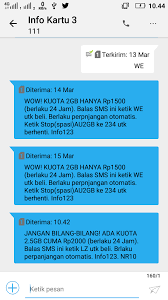 Selanjutnya, gadgeter dapat mengetikkan sms dengan format stop internet. Paketan Internet Terbaru Tri 2 5gb Biaya Rp 2000 24 Jam Super Luber Gapunyakode