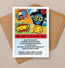 superheroes birthday party invitations comic book inspired superhero birthday party invitation from 0 90 each