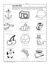 In this post, we shall be discussing the phonics sounds books that i have prepared for preschool and kindergarten. The Letter C Worksheets