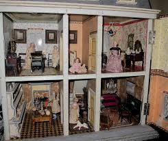 A Christian Hacker House Ca  By Susan Hale Dolls Houses - Dolls house interior