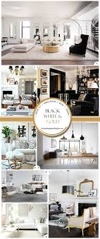 White And Gold Decor Decor 101 Black White And Gold Living Room With Tribal Accents