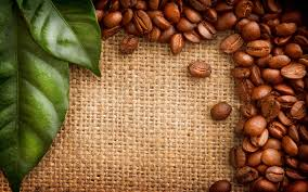 coffee beans desktop background. Wonderful Background Coffee Beans Green Leaves And Beans Desktop Background E