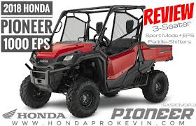 2018 honda pioneer. contemporary 2018 2018 honda pioneer 1000 eps review  specs  side by utv atv inside honda pioneer e