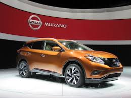 new car release 20142015 Nissan Murano First Look Live Photos