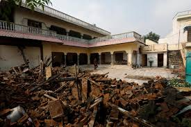 Earthquake damage road stock photos and images. Shoddy Homes Worsen Pakistan Earthquake Damage Reuters