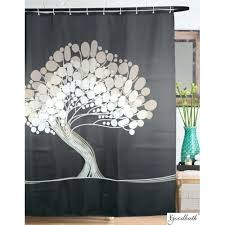 tree of life shower curtains bathroom tree of life polyester shower curtains x inch gray dotz