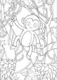 Looking for christmas coloring pages? Monkeys Free Printable Coloring Pages For Kids