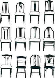 dining chair styles names dining room chairs styles furniture styles diffe various names of perfect dining