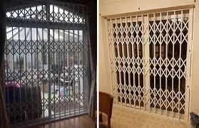 patio door grilles by rsg security
