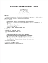Objective For Business Administration Resume Resume For Your Job