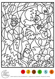 Coloriage Magique Animaux L L L Duilawyerlosangeles