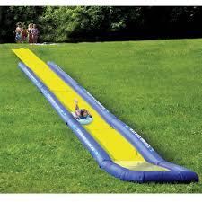 The Worldu0027s Longest Backyard Water Slide  Hammacher SchlemmerWater Slides Backyard