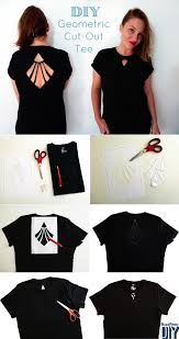 T Shirt Design Ideas Cutting Find This Pin And More On Diy T Shirts Ideas