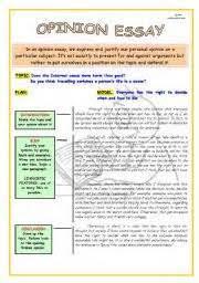 opinion essay successful writing intermediate case study  opinion essay successful writing intermediate