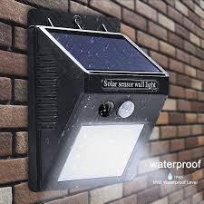 led solar light outdoor solar lamp with pir motion sensor