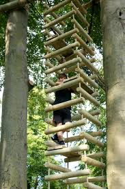 Hanging Tree House 4 Sided Rope Ladders For Treehouses By Treehouse Life A World