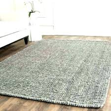 wool and jute rug area rugs furniture home decor pleasing for your mini pebble reviews chunky