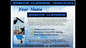 window cleaning leaflets window cleaning leaflets