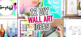 12 easy wall art room decoration ideas diy compilation handmade