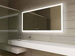 Modern Mirror Design LED Illuminated Bathroom Mirror with Sensor