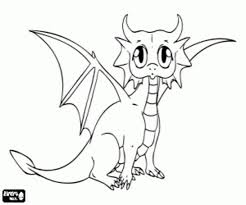 Adult Baby Dragon Coloring Pages Minecraft Baby Ender Dragon