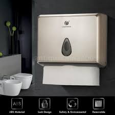 commercial bathroom paper towel dispenser. Brilliant Commercial Commercial Paper Towel Holder Dispenser Mounted Bathroom Office Shop Public  P9M9 1 Of 1FREE Shipping  To