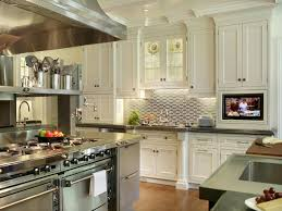 black and white kitchen backsplash ideas. Kitchen Backsplash Ideas With White Cabinets L Shape Cabinet Brown Top Isl Pink Bubble Motives Remodelling And Beadboard Black