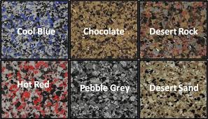 epoxy flooring colors. Chip-colors-text Epoxy Flooring Colors ,