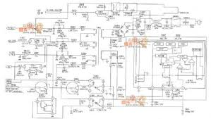 index circuit diagram com lg cf 25h84 color tv power supply circuit diagram