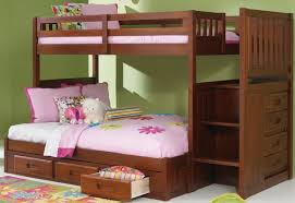 bunk beds for girls twin over full. Fine Over Twin Over Full Bunk Bed With 3 Drawer Staircase With Beds For Girls Over W