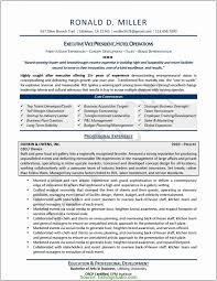Good Operation Executive Resume Format Resume Format For Operation