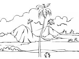Small Picture Landscape Coloring Pages Pdf Coloring Coloring Pages