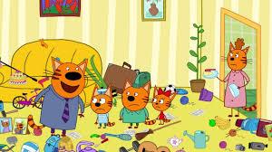 Три кота | Камень, ножницы, <b>бумага</b> | Серия 78 | Мультфильмы ...
